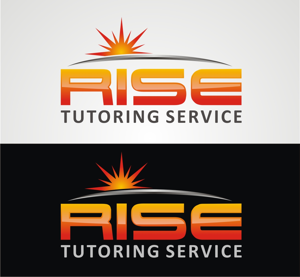 Logo Design by Reivan Ferdinan - Entry No. 30 in the Logo Design Contest Imaginative Logo Design for Rise Tutoring Service.