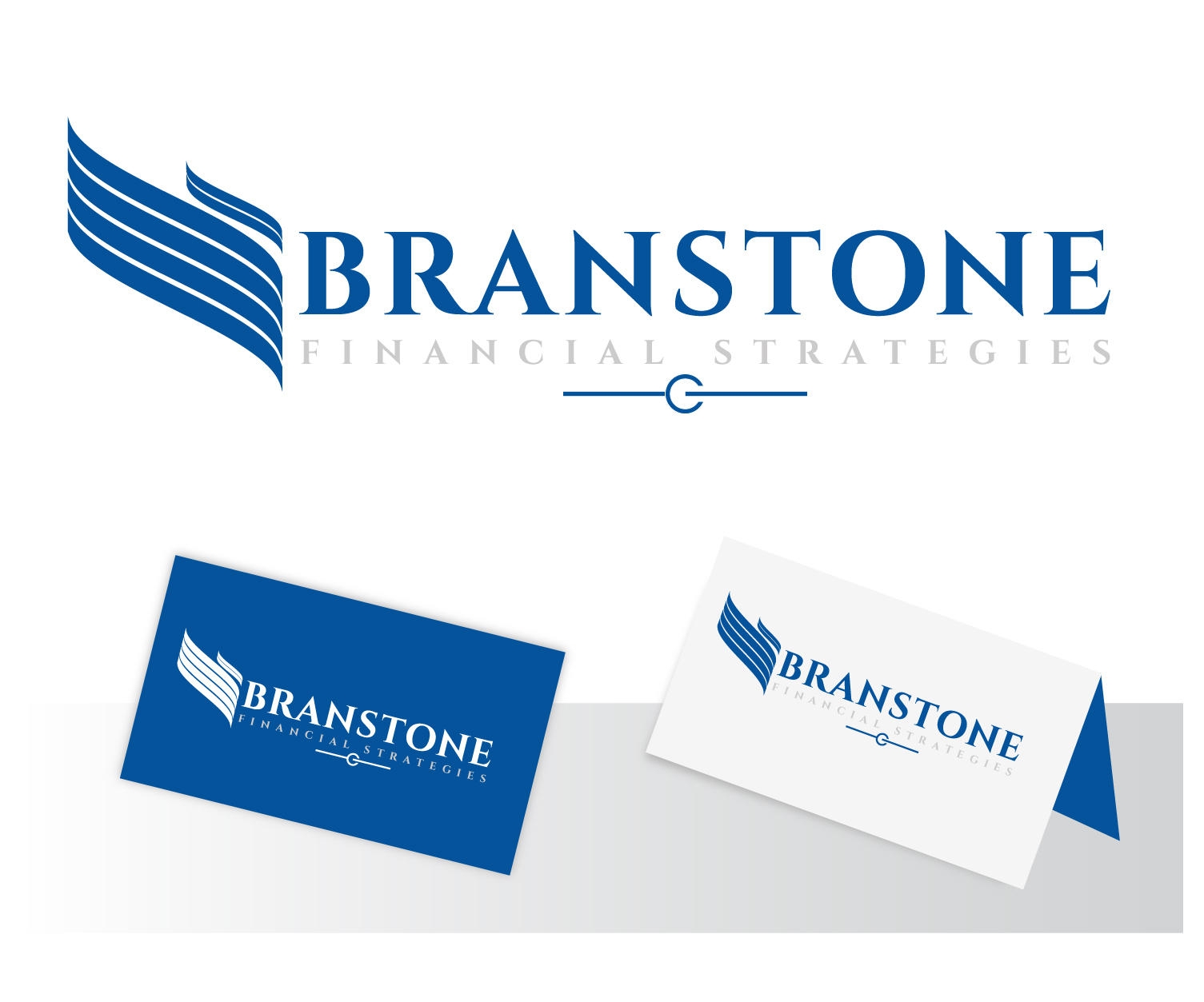 Logo Design by VENTSISLAV KOVACHEV - Entry No. 119 in the Logo Design Contest Inspiring Logo Design for Branstone Financial Strategies.