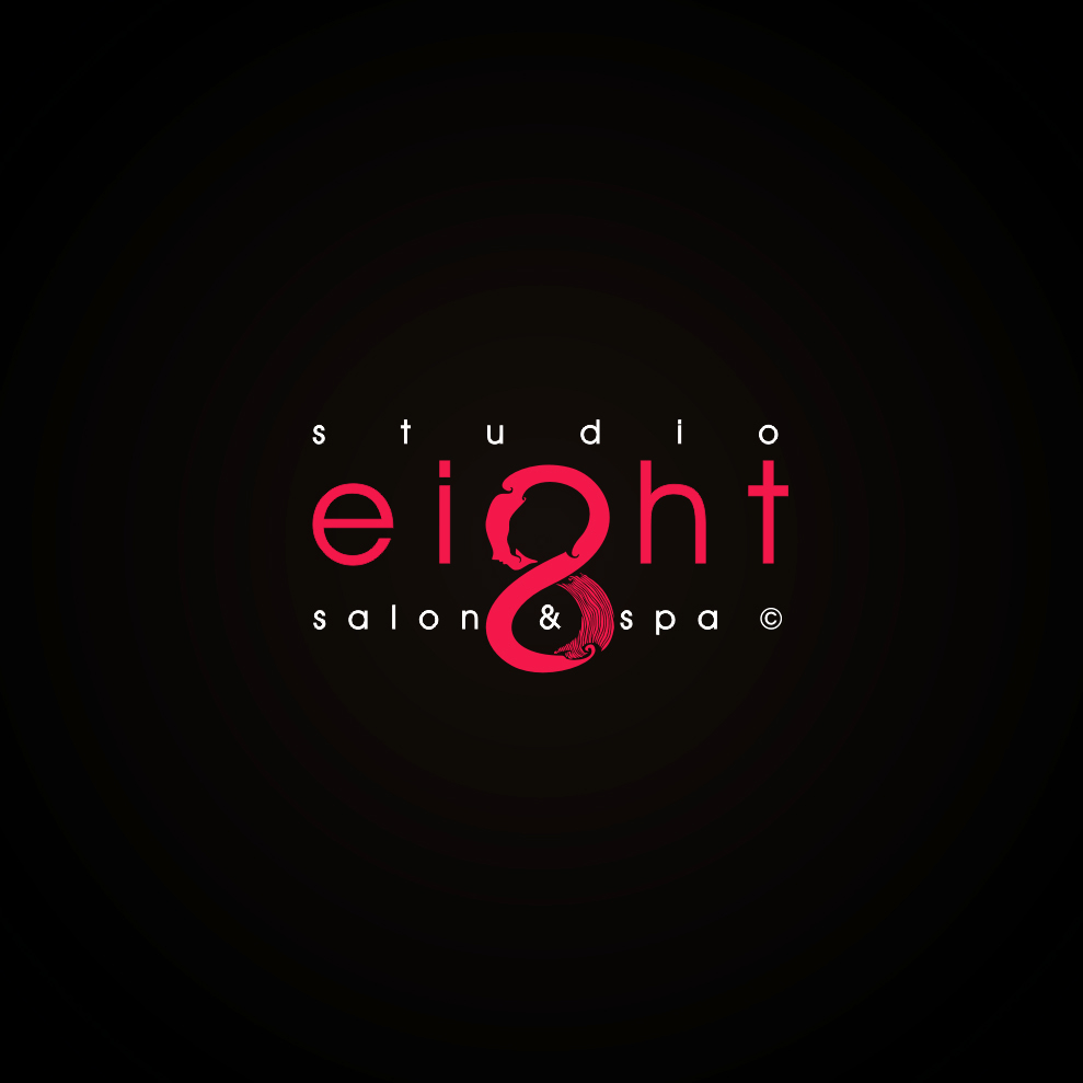 Logo Design by Think - Entry No. 165 in the Logo Design Contest Captivating Logo Design for studio eight salon & spa.