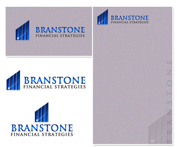 Logo Design by Crystal Desizns - Entry No. 123 in the Logo Design Contest Inspiring Logo Design for Branstone Financial Strategies.