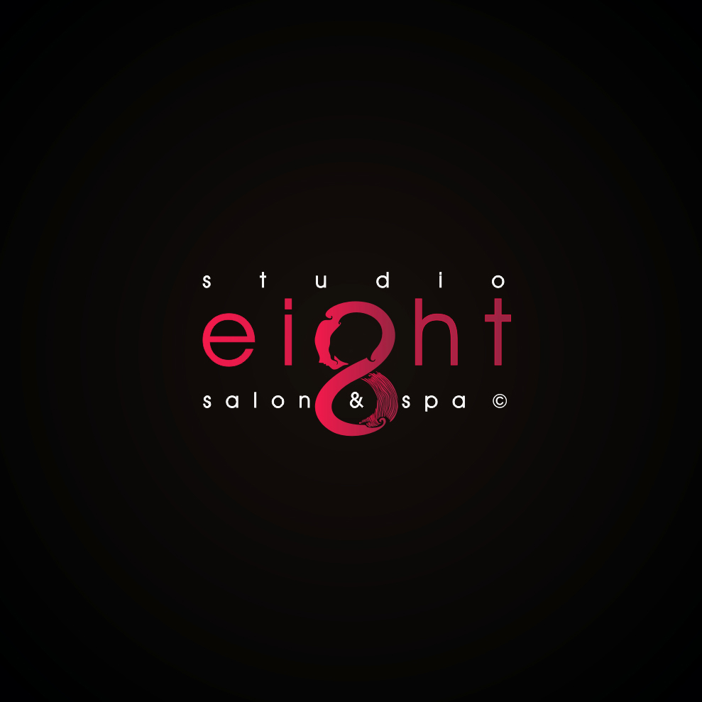 Logo Design by Think - Entry No. 166 in the Logo Design Contest Captivating Logo Design for studio eight salon & spa.
