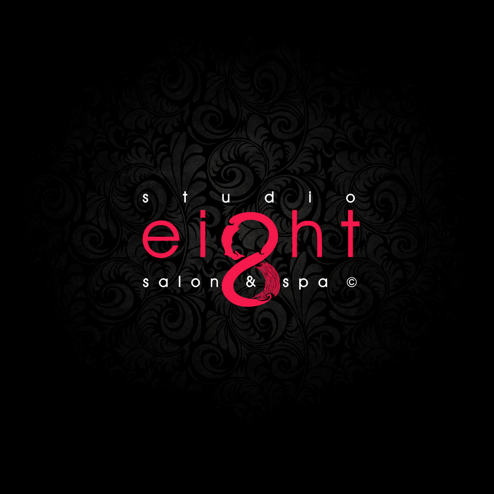 Logo Design by Think - Entry No. 167 in the Logo Design Contest Captivating Logo Design for studio eight salon & spa.
