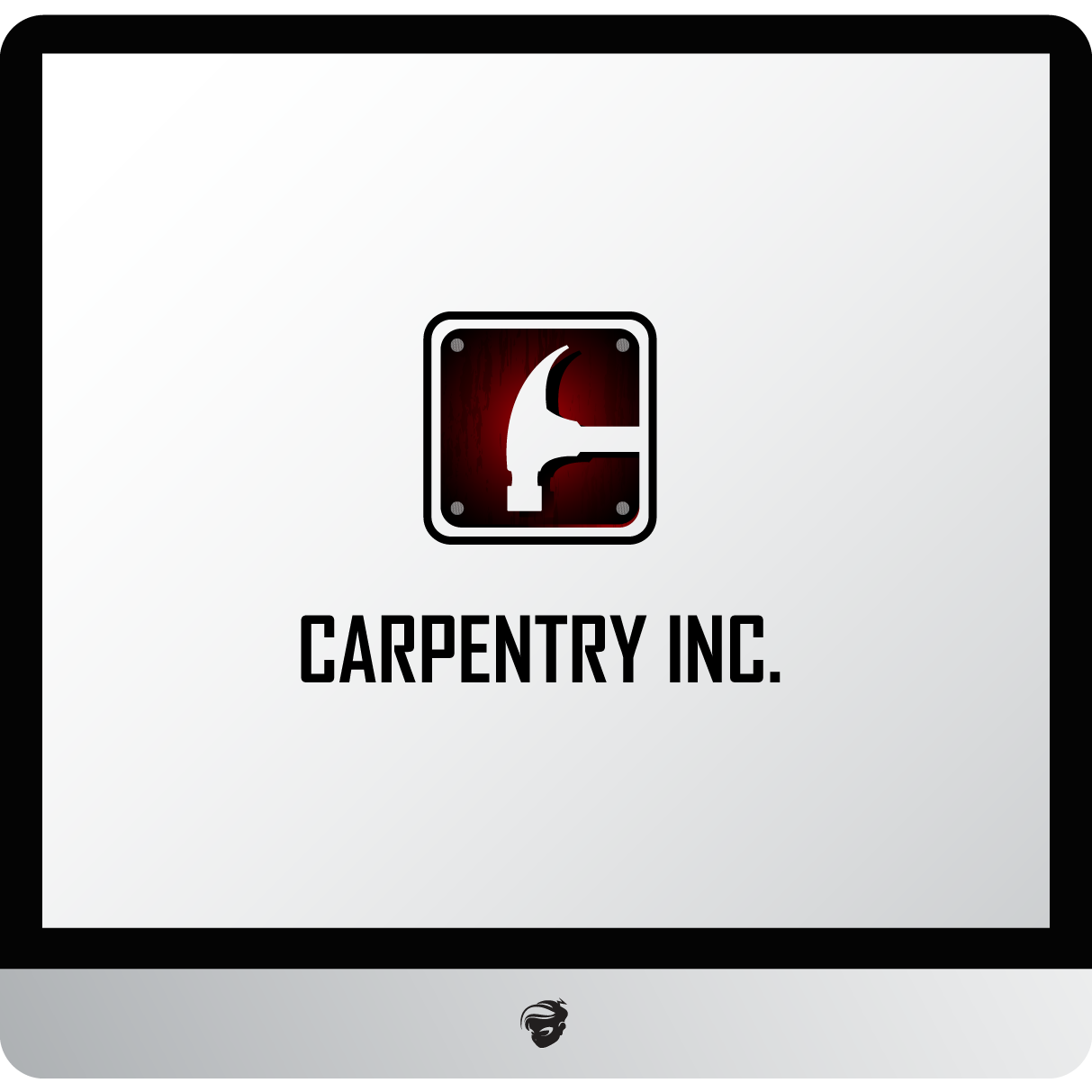 Logo Design by zesthar - Entry No. 18 in the Logo Design Contest Creative Logo Design for Carpentry inc..