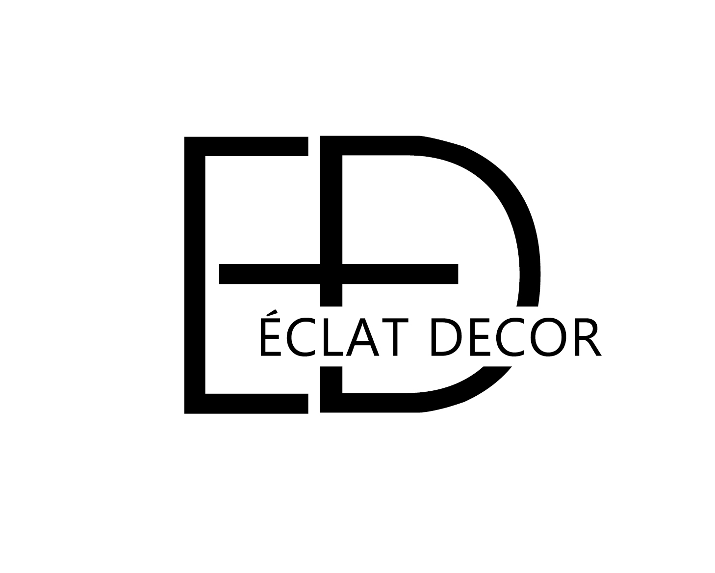 Logo Design by VENTSISLAV KOVACHEV - Entry No. 1 in the Logo Design Contest Imaginative Logo Design for Éclat Decor.