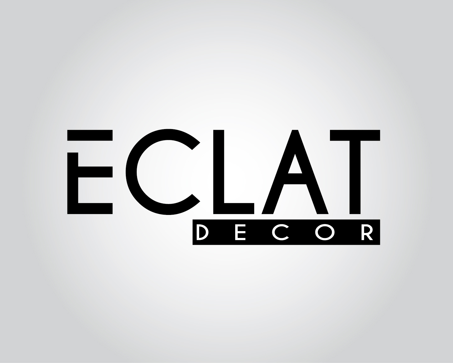 Logo Design by VENTSISLAV KOVACHEV - Entry No. 2 in the Logo Design Contest Imaginative Logo Design for Éclat Decor.