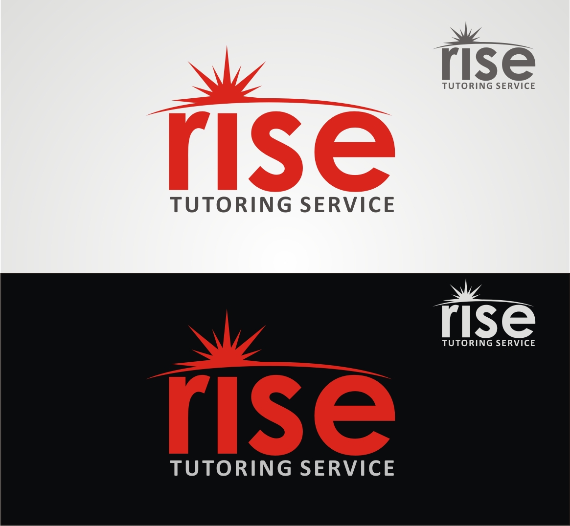 Logo Design by Reivan Ferdinan - Entry No. 31 in the Logo Design Contest Imaginative Logo Design for Rise Tutoring Service.