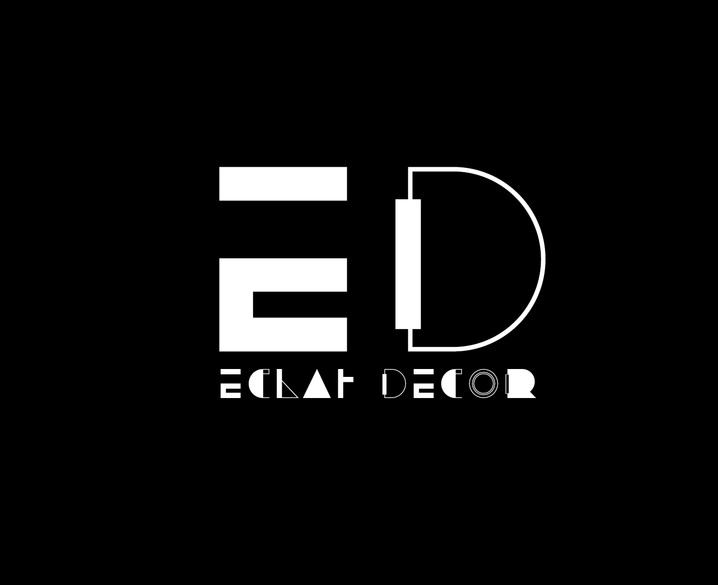 Logo Design by VENTSISLAV KOVACHEV - Entry No. 5 in the Logo Design Contest Imaginative Logo Design for Éclat Decor.