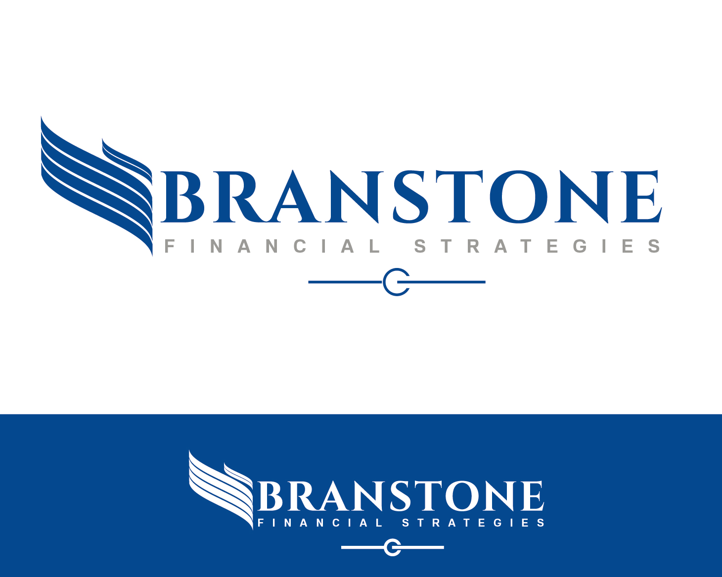 Logo Design by VENTSISLAV KOVACHEV - Entry No. 128 in the Logo Design Contest Inspiring Logo Design for Branstone Financial Strategies.