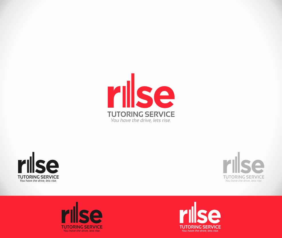 Logo Design by cromworx - Entry No. 36 in the Logo Design Contest Imaginative Logo Design for Rise Tutoring Service.