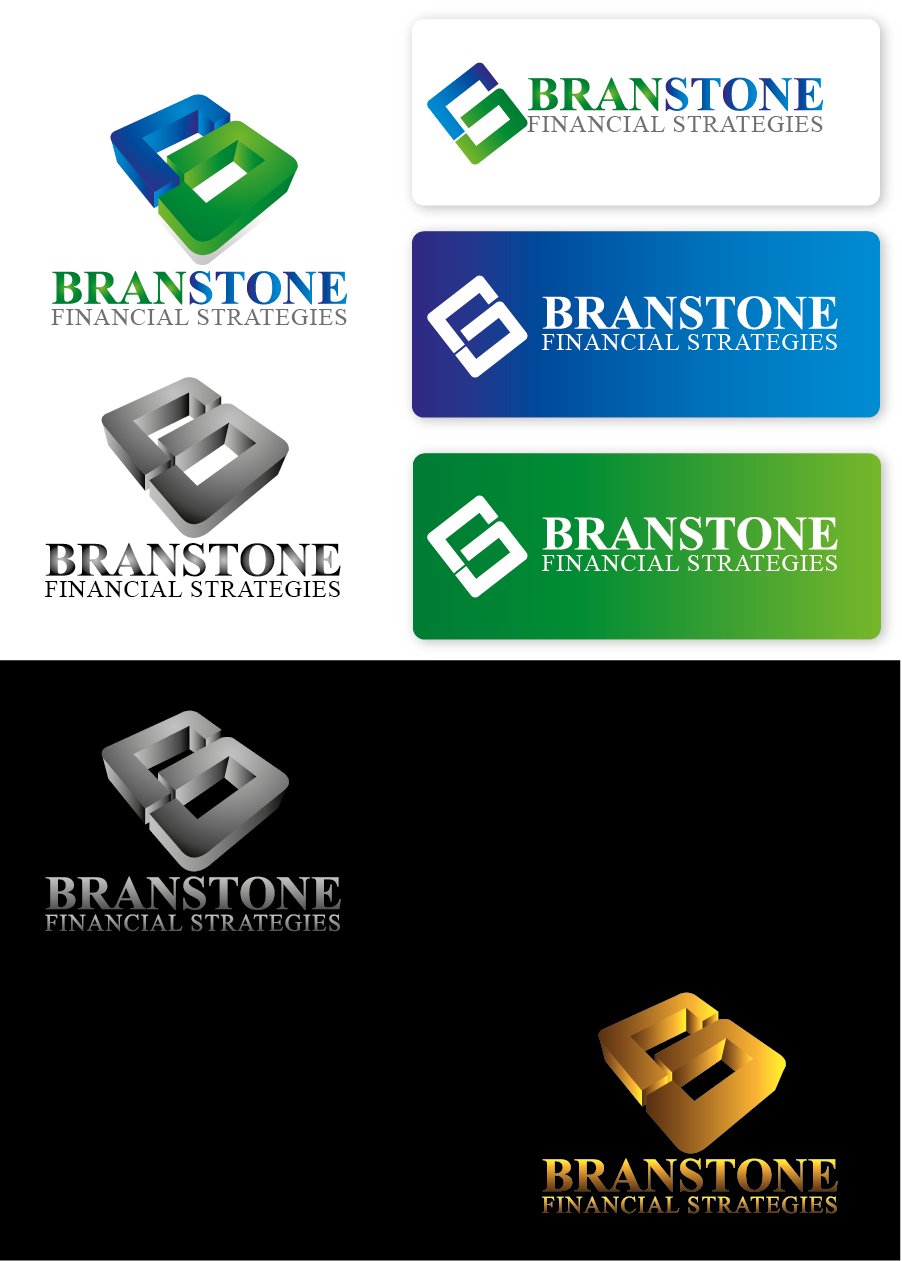 Logo Design by Private User - Entry No. 135 in the Logo Design Contest Inspiring Logo Design for Branstone Financial Strategies.