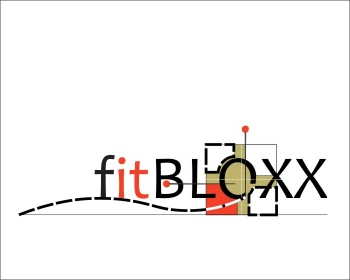 Logo Design by Ermenegildo - Entry No. 96 in the Logo Design Contest FitBloxx (creating block fits for the apparel industry).