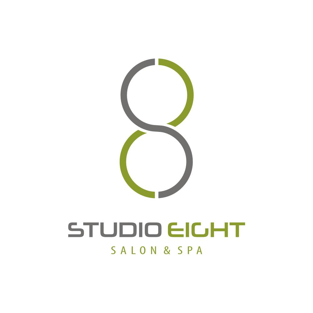 Logo Design by Private User - Entry No. 170 in the Logo Design Contest Captivating Logo Design for studio eight salon & spa.