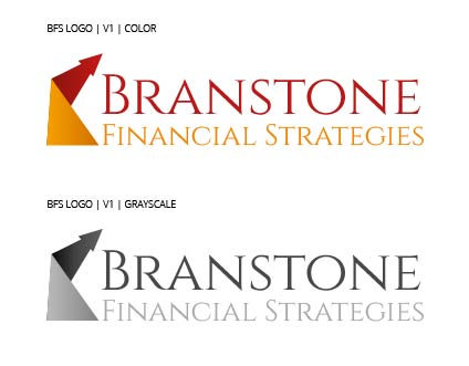 Logo Design by Shahriar Zaman - Entry No. 137 in the Logo Design Contest Inspiring Logo Design for Branstone Financial Strategies.