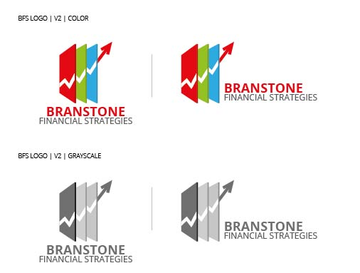 Logo Design by Shahriar Zaman - Entry No. 138 in the Logo Design Contest Inspiring Logo Design for Branstone Financial Strategies.