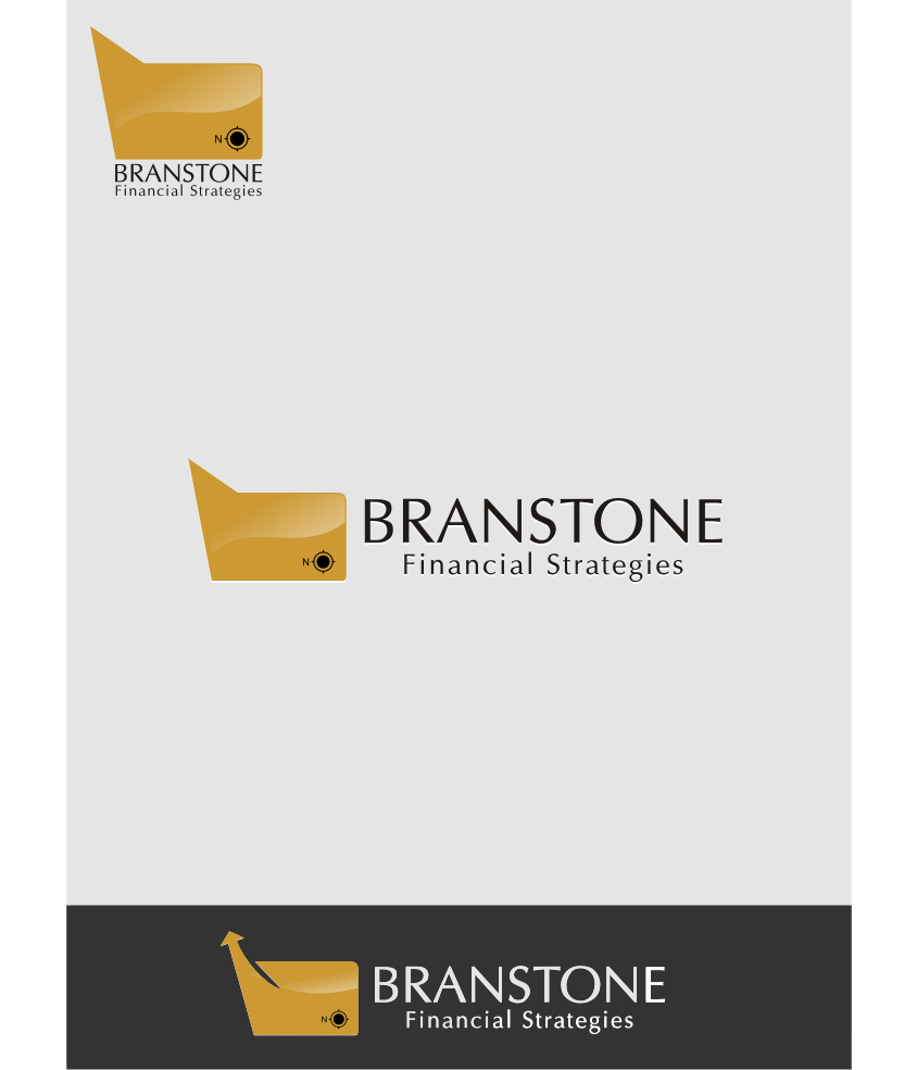 Logo Design by graphicleaf - Entry No. 140 in the Logo Design Contest Inspiring Logo Design for Branstone Financial Strategies.