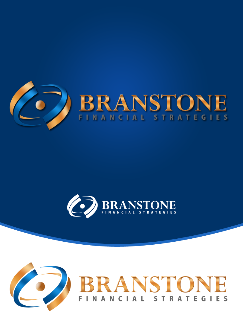 Logo Design by Private User - Entry No. 144 in the Logo Design Contest Inspiring Logo Design for Branstone Financial Strategies.