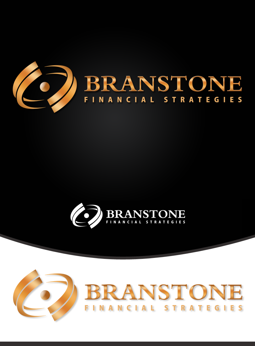 Logo Design by Private User - Entry No. 145 in the Logo Design Contest Inspiring Logo Design for Branstone Financial Strategies.