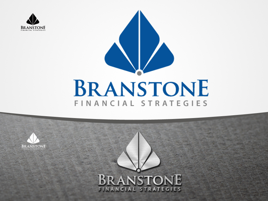 Logo Design by Richard Soriano - Entry No. 148 in the Logo Design Contest Inspiring Logo Design for Branstone Financial Strategies.