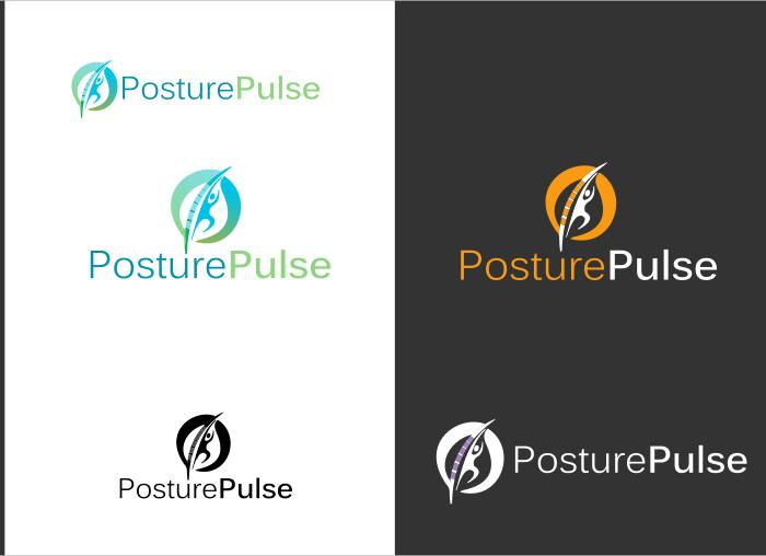 Logo Design by Private User - Entry No. 1 in the Logo Design Contest Unique Logo Design Wanted for PosturePulse.