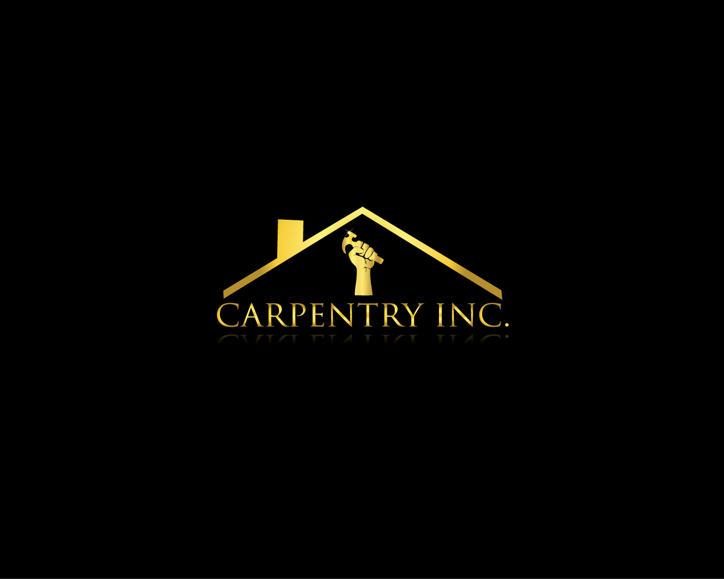 Logo Design by Rowel Samson - Entry No. 21 in the Logo Design Contest Creative Logo Design for Carpentry inc..
