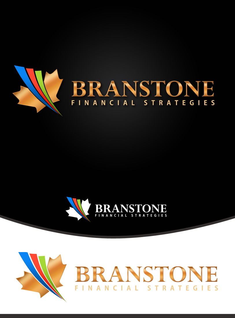 Logo Design by Private User - Entry No. 152 in the Logo Design Contest Inspiring Logo Design for Branstone Financial Strategies.