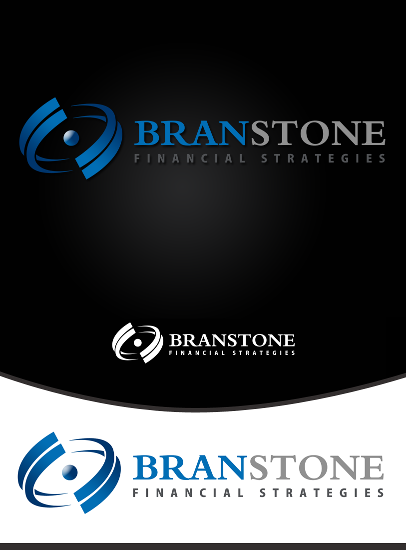 Logo Design by Private User - Entry No. 153 in the Logo Design Contest Inspiring Logo Design for Branstone Financial Strategies.
