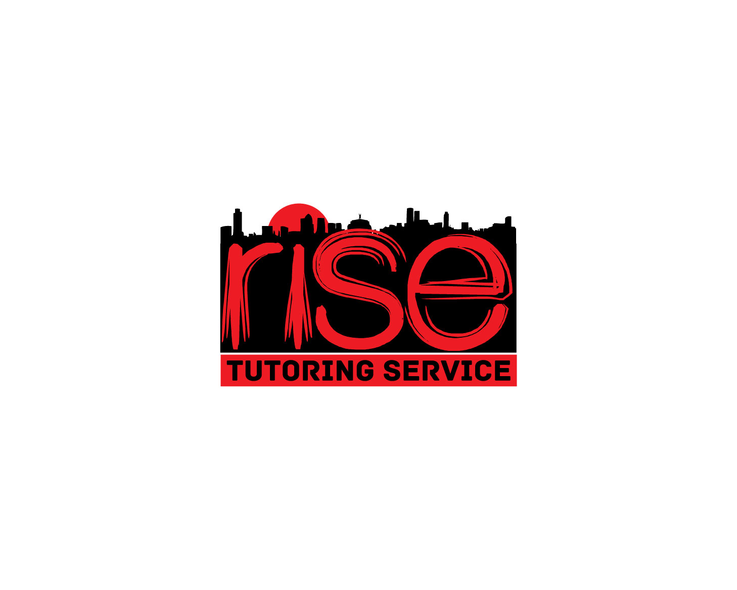 Logo Design by Rowel Samson - Entry No. 48 in the Logo Design Contest Imaginative Logo Design for Rise Tutoring Service.