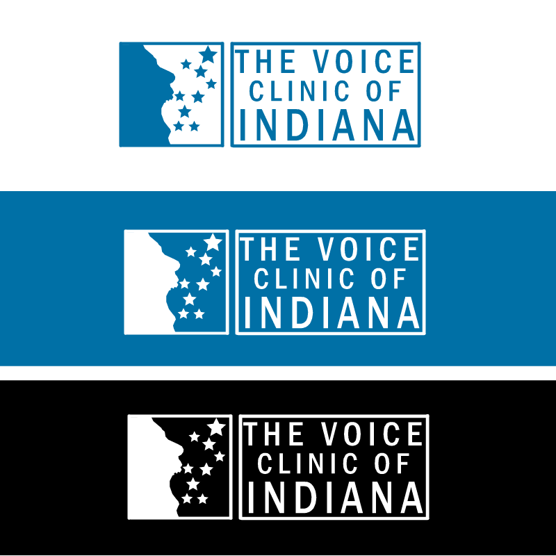 Logo Design by RAJU CHATTERJEE - Entry No. 3 in the Logo Design Contest Logo Design for The Voice Clinic of Indiana.