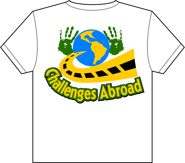 Clothing Design by moisesf - Entry No. 27 in the Clothing Design Contest Fun Clothing Design for Challenges Abroad.