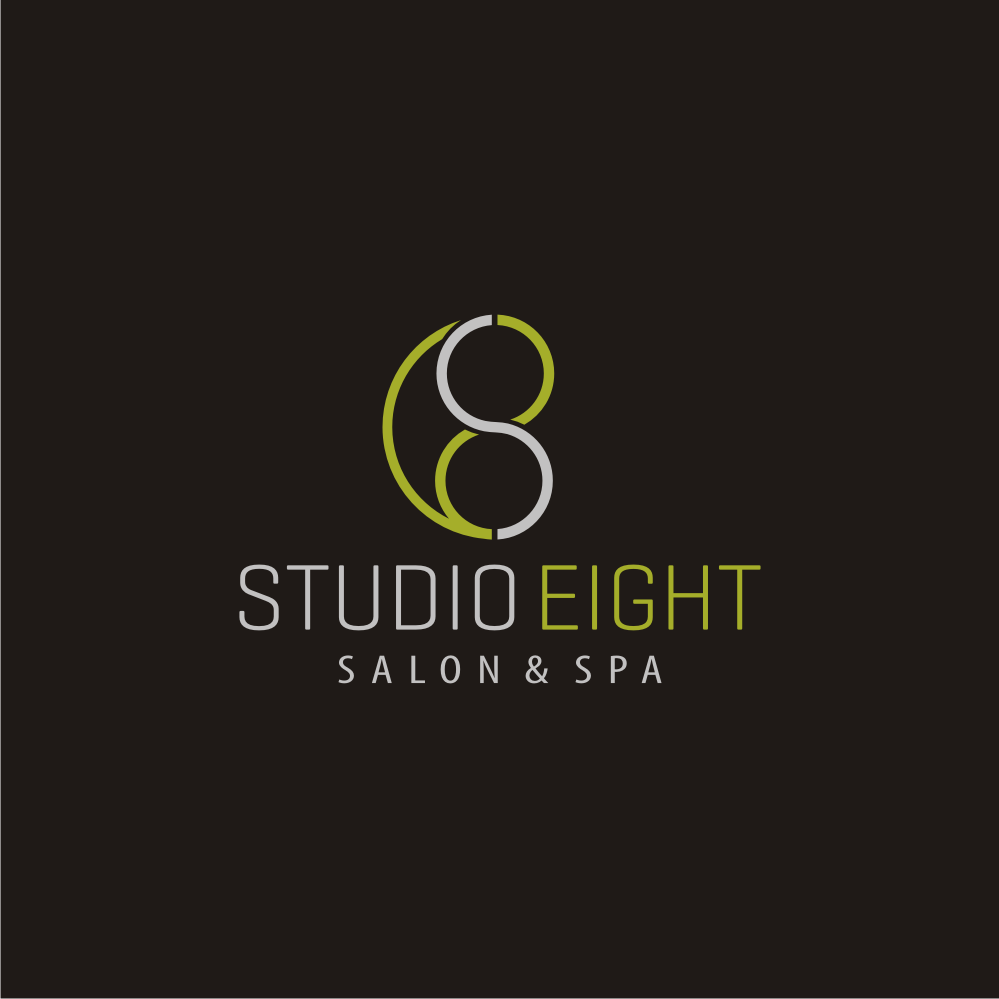 Logo Design by Private User - Entry No. 175 in the Logo Design Contest Captivating Logo Design for studio eight salon & spa.