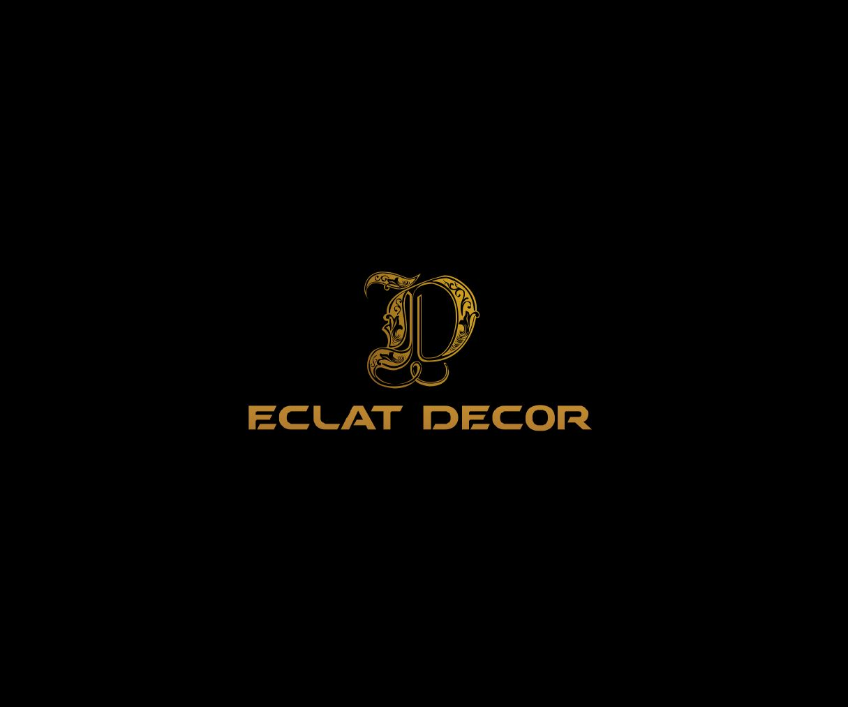 Logo Design by Fareldook Fareldook - Entry No. 10 in the Logo Design Contest Imaginative Logo Design for Éclat Decor.