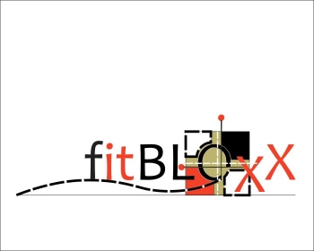 Logo Design by Ermenegildo - Entry No. 97 in the Logo Design Contest FitBloxx (creating block fits for the apparel industry).