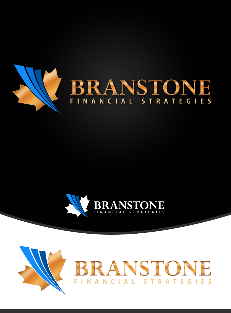 Logo Design by Robert Turla - Entry No. 157 in the Logo Design Contest Inspiring Logo Design for Branstone Financial Strategies.