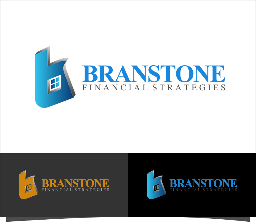 Logo Design by Ngepet_art - Entry No. 160 in the Logo Design Contest Inspiring Logo Design for Branstone Financial Strategies.