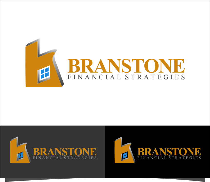 Logo Design by Ngepet_art - Entry No. 161 in the Logo Design Contest Inspiring Logo Design for Branstone Financial Strategies.