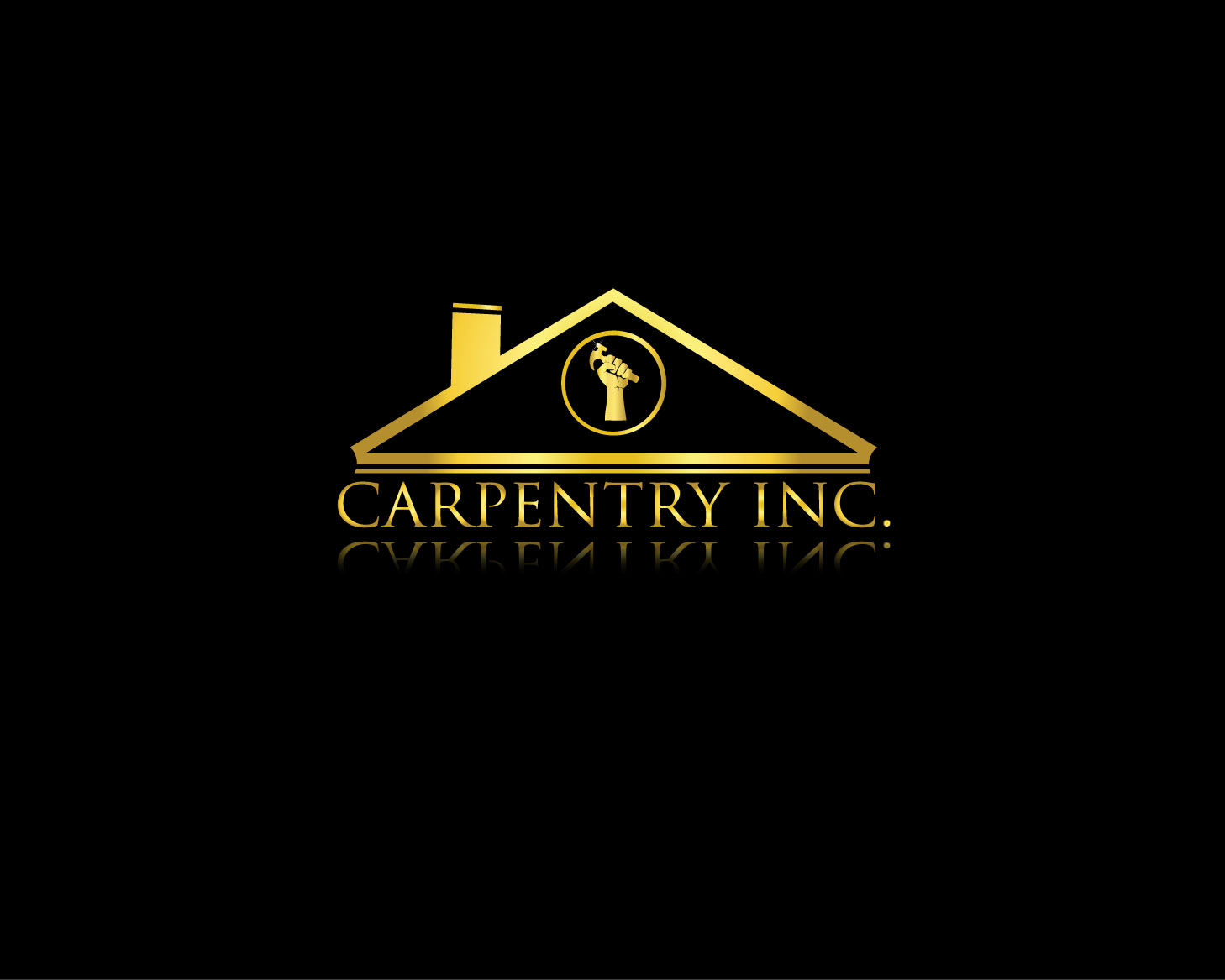 Logo Design by Rowel Samson - Entry No. 25 in the Logo Design Contest Creative Logo Design for Carpentry inc..
