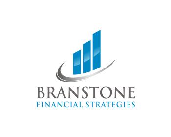 Logo Design by mshblajar - Entry No. 177 in the Logo Design Contest Inspiring Logo Design for Branstone Financial Strategies.