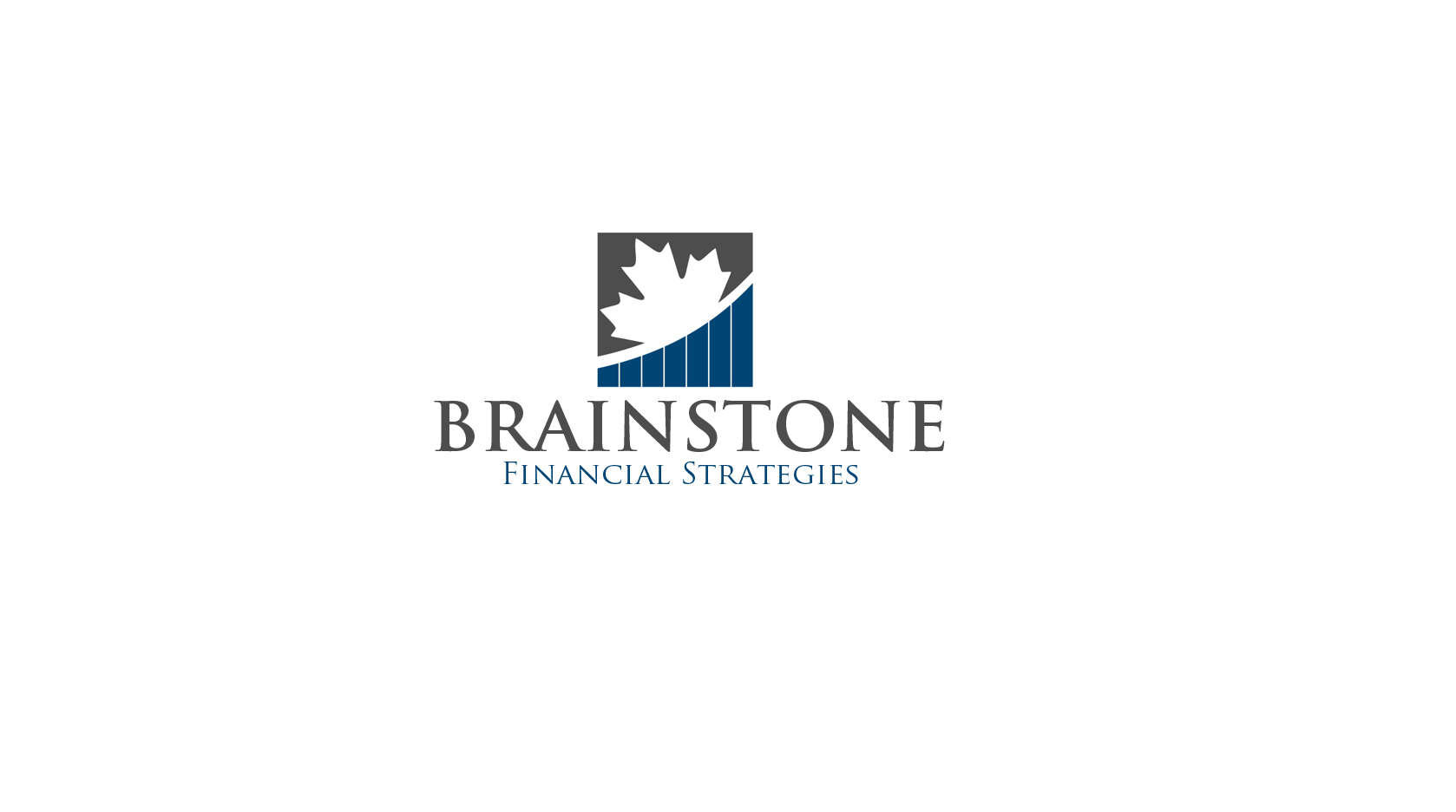 Logo Design by Mehtab Khan - Entry No. 181 in the Logo Design Contest Inspiring Logo Design for Branstone Financial Strategies.