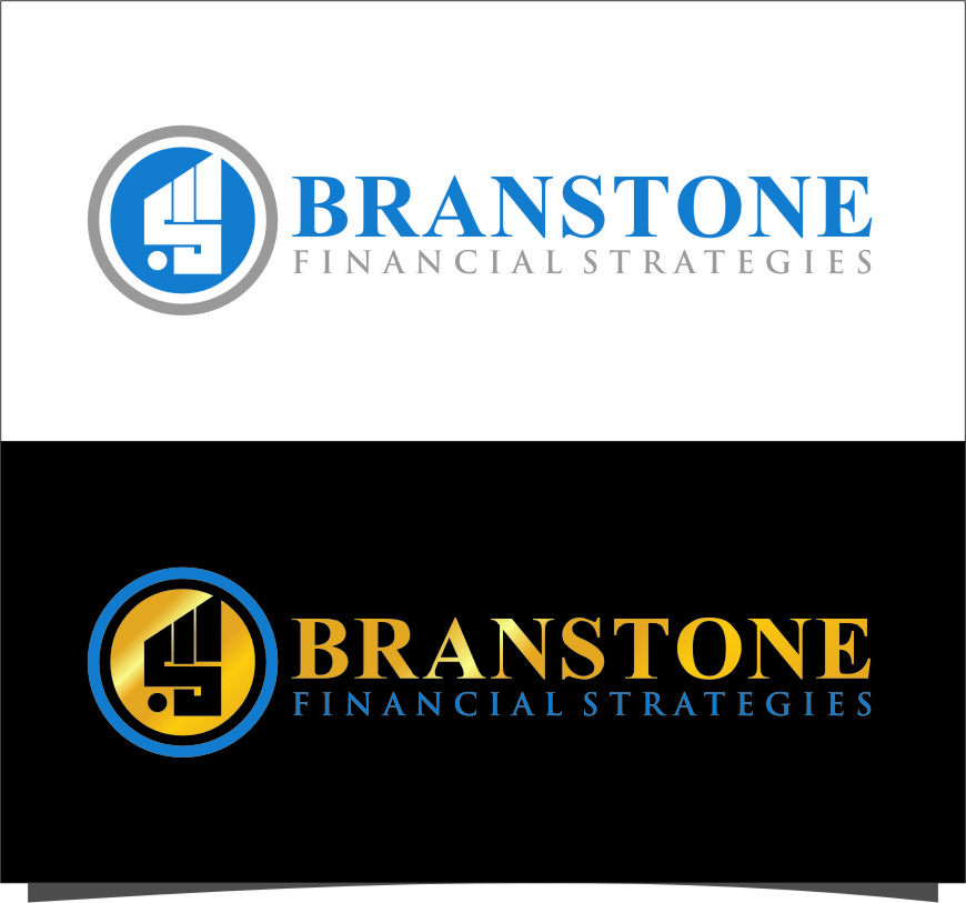 Logo Design by Ngepet_art - Entry No. 186 in the Logo Design Contest Inspiring Logo Design for Branstone Financial Strategies.