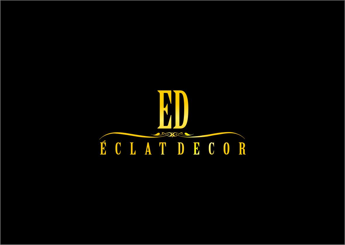 Logo Design by haidu - Entry No. 13 in the Logo Design Contest Imaginative Logo Design for Éclat Decor.