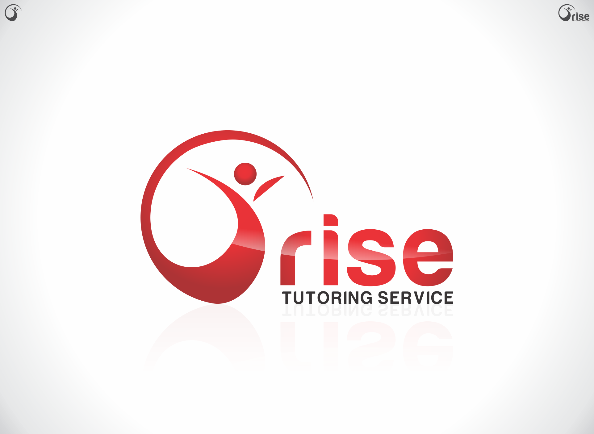 Logo Design by dandor - Entry No. 49 in the Logo Design Contest Imaginative Logo Design for Rise Tutoring Service.