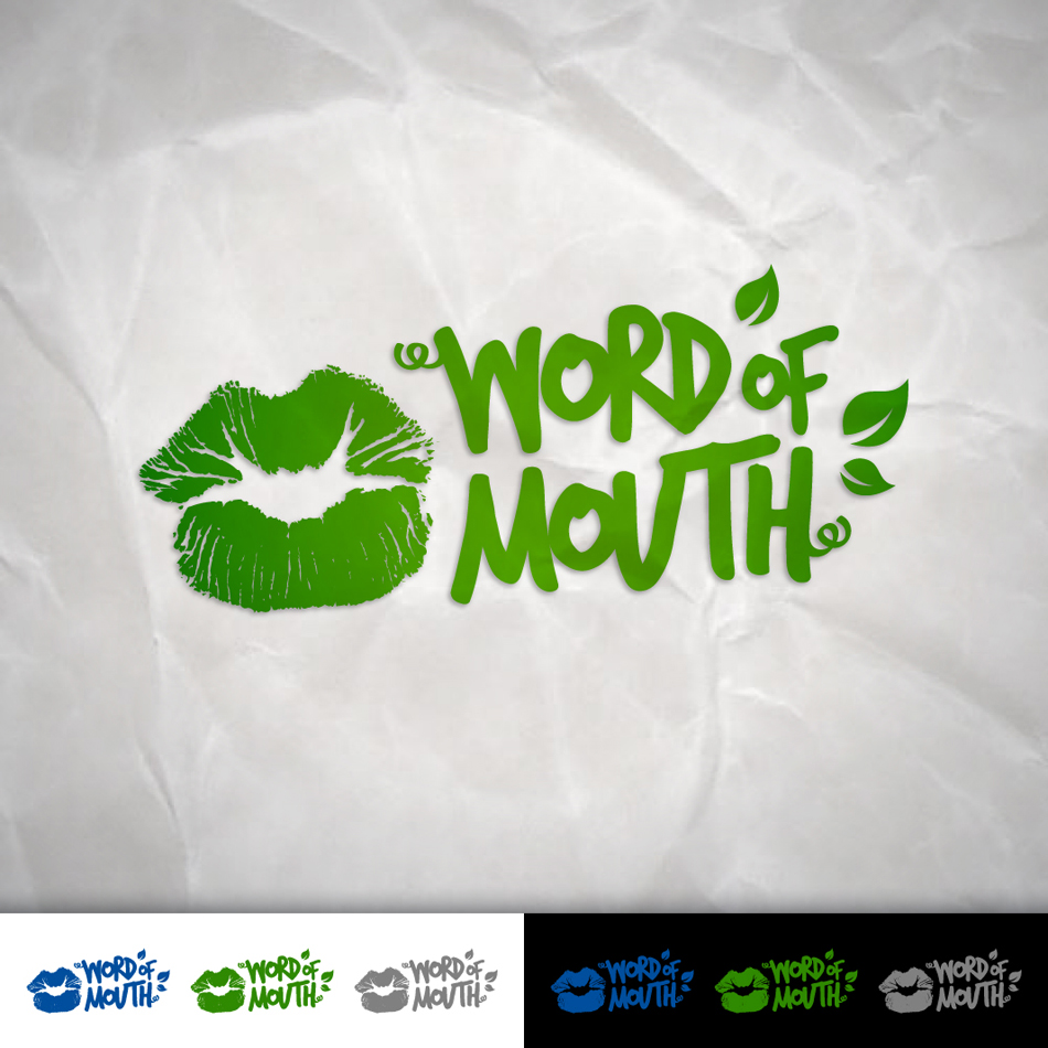 Logo Design by Tanti - Entry No. 80 in the Logo Design Contest Word Of Mouth.