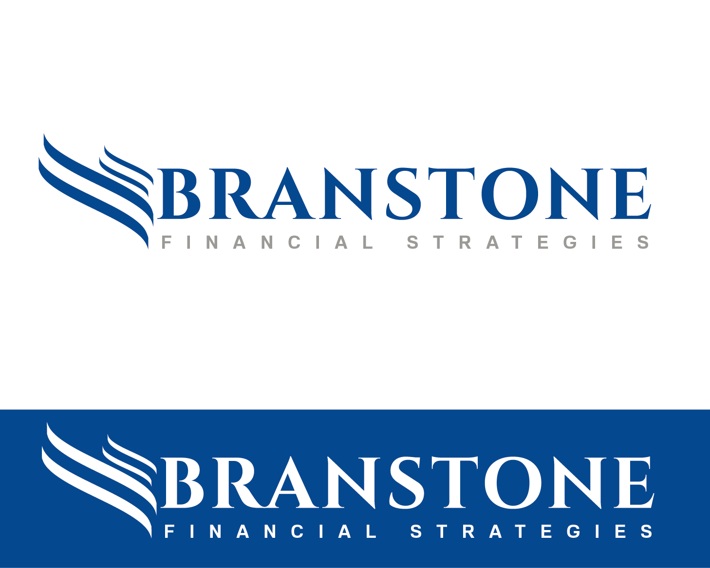 Logo Design by VENTSISLAV KOVACHEV - Entry No. 208 in the Logo Design Contest Inspiring Logo Design for Branstone Financial Strategies.