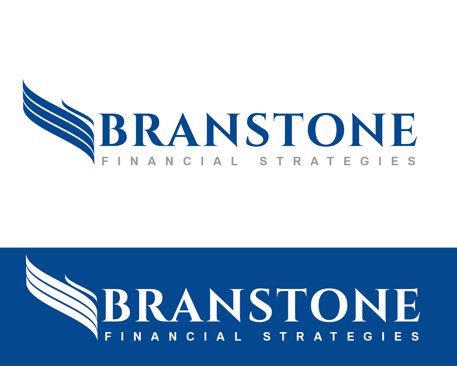 Logo Design by VENTSISLAV KOVACHEV - Entry No. 210 in the Logo Design Contest Inspiring Logo Design for Branstone Financial Strategies.