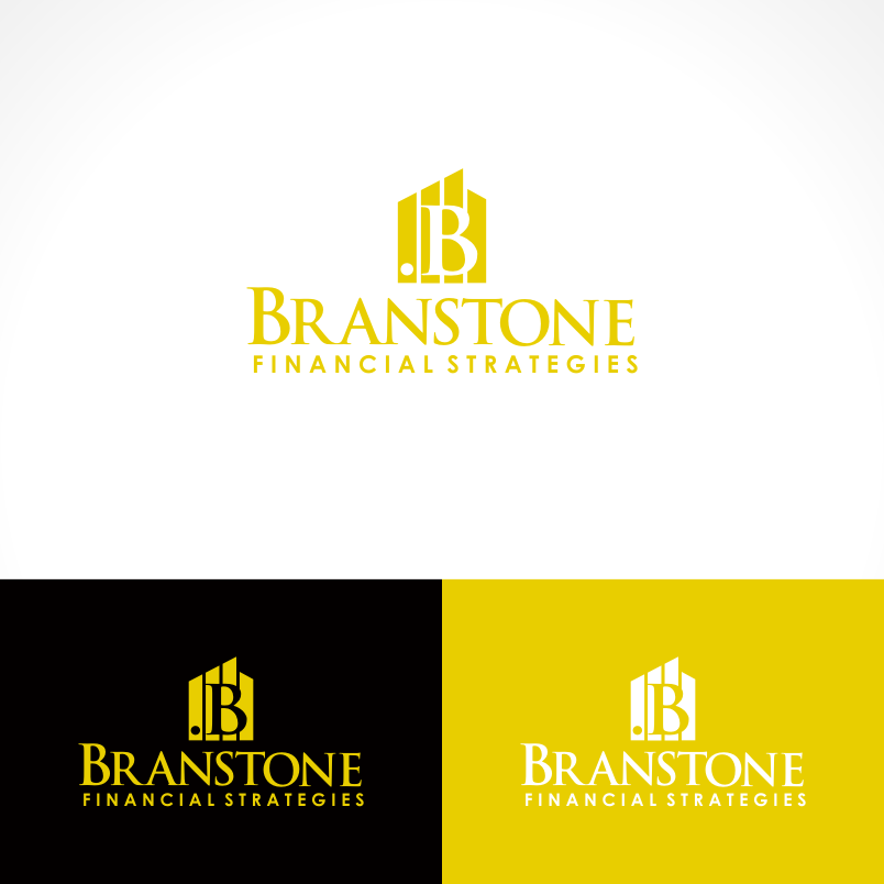 Logo Design by Private User - Entry No. 212 in the Logo Design Contest Inspiring Logo Design for Branstone Financial Strategies.