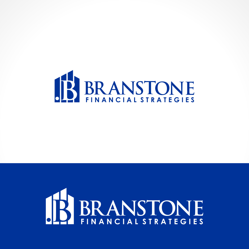 Logo Design by Private User - Entry No. 214 in the Logo Design Contest Inspiring Logo Design for Branstone Financial Strategies.