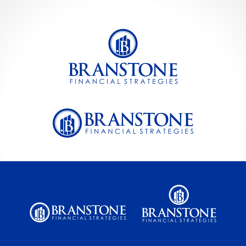 Logo Design by Private User - Entry No. 218 in the Logo Design Contest Inspiring Logo Design for Branstone Financial Strategies.