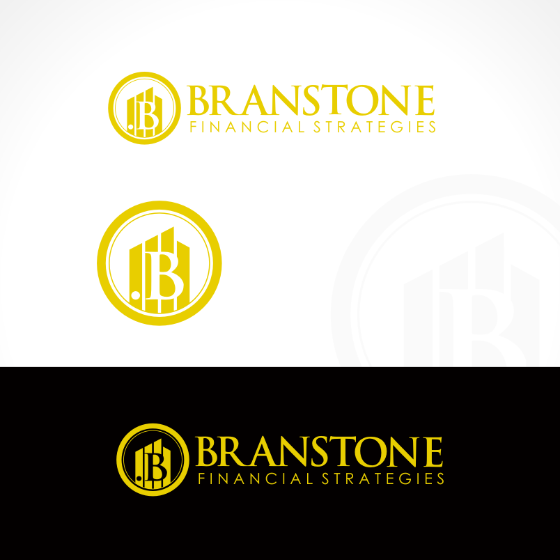 Logo Design by Private User - Entry No. 220 in the Logo Design Contest Inspiring Logo Design for Branstone Financial Strategies.