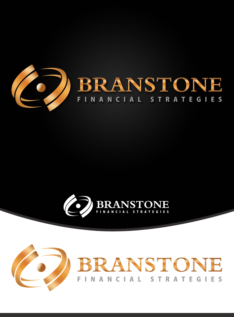 Logo Design by Robert Turla - Entry No. 221 in the Logo Design Contest Inspiring Logo Design for Branstone Financial Strategies.