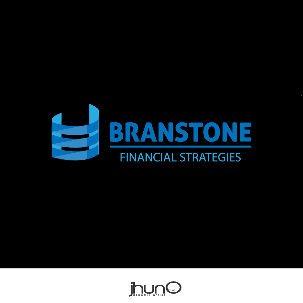 Logo Design by zesthar - Entry No. 223 in the Logo Design Contest Inspiring Logo Design for Branstone Financial Strategies.